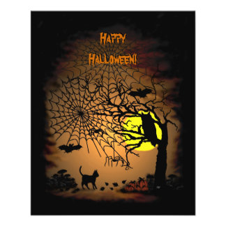 Halloween Night , Happy Halloween! Custom Flyer