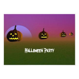 Halloween Night Party Invitation   Pumpkin