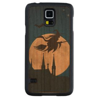Halloween Night Scene Carved Cherry Galaxy S5 Case