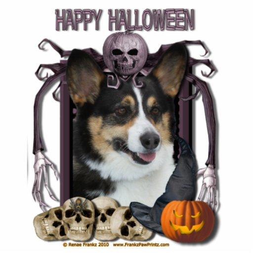 Halloween Nightmare - Corgi Photo Cut Out
