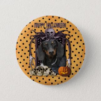 Halloween Nightmare - Dachshund - Winston 6 Cm Round Badge