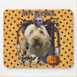 Halloween Nightmare - Goldendoodle Mouse Mats