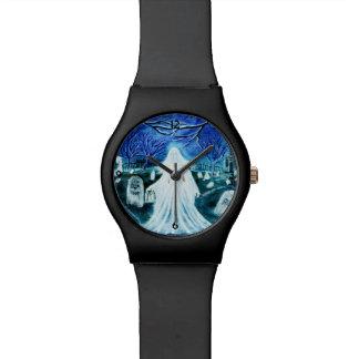Halloween or everyday women's wrist watch