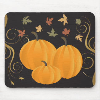 Halloween or Thanksgiving fall and autumn products Mouse Mat