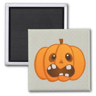 Halloween Orange Pumpkin Jack-o'-lantern Refrigerator Magnet