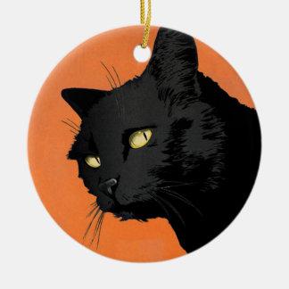 Halloween Ornaments - Glaring Cat