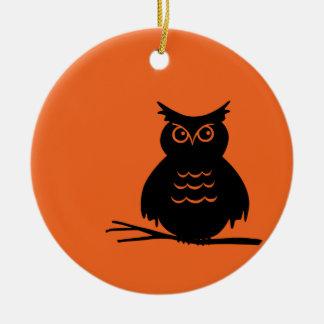 Halloween Owl Christmas Ornament