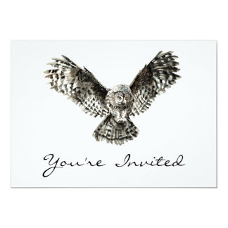Halloween Owl Party Invite to Customize
