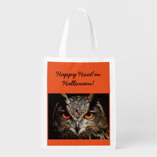 Halloween Owl Trick Or Treat Tote