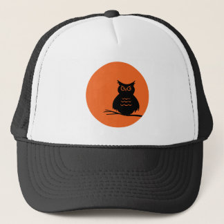 Halloween Owl Trucker Hat