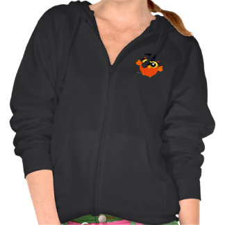 Halloween Owl Hooded Pullovers
