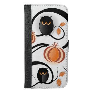 Halloween Owls iPhone 6/6s Plus Wallet Case