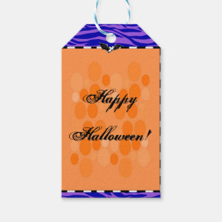 Halloween Paper Favor Gift Tag