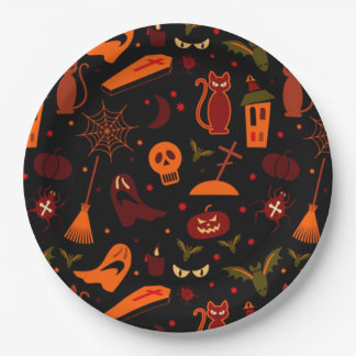 Halloween Paper Plates 9 Inch Paper Plate