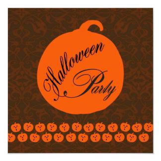 Halloween Party 13 Cm X 13 Cm Square Invitation Card