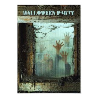 halloween party 13 cm x 18 cm invitation card