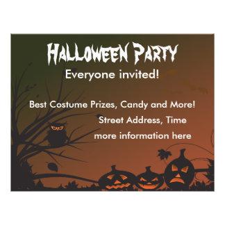 Halloween Party 2 21.5 Cm X 28 Cm Flyer