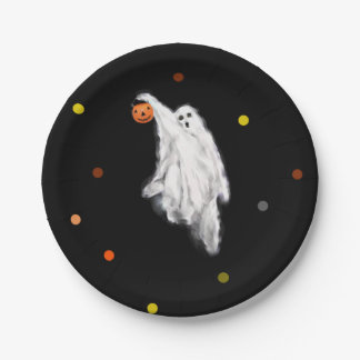 Halloween Party 7 Inch Paper Plate