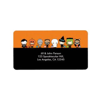 Halloween Party Address Label