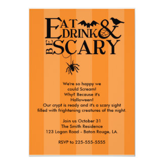 Halloween Party Card