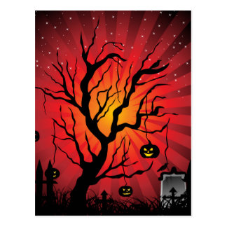 Halloween Party Card Postcard