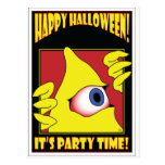 HALLOWEEN PARTY CARDS POSTCARD