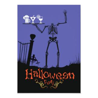 Halloween Party Drinks invitation