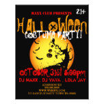 Halloween Party Event Announcement DJ CLUB Flyer