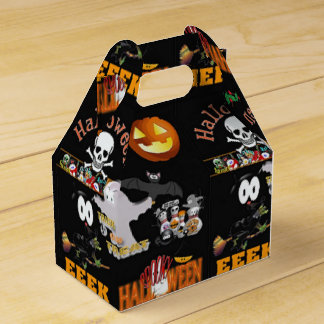 Halloween party favour box