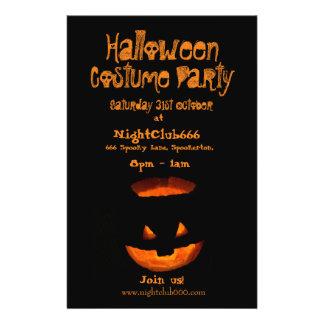 Halloween Party 14 Cm X 21.5 Cm Flyer