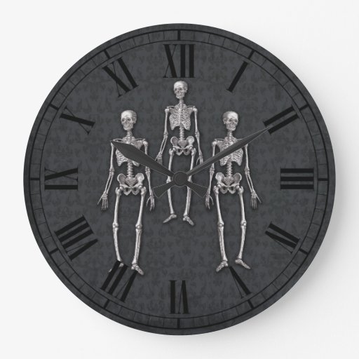 Halloween Party Haunted House Victorian Gothic Wall Clocks