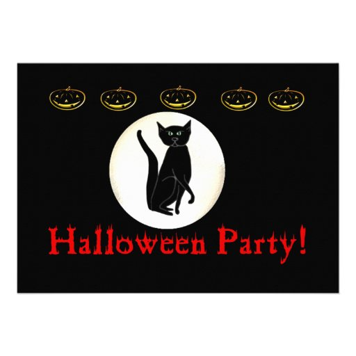 Halloween Party! Announcement