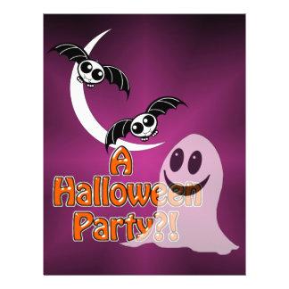 HALLOWEEN PARTY INVITATION 21.5 CM X 28 CM FLYER