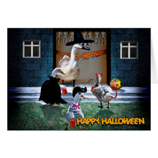 HALLOWEEN PARTY INVITATION GREETING CARDS