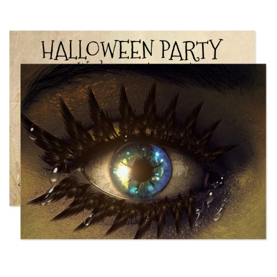 Halloween Party Invitation Personalised & Scary!