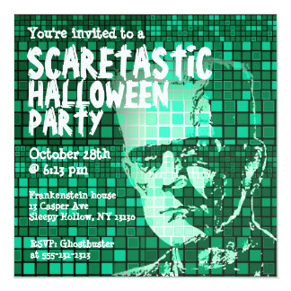 Halloween Party Invitation Scaretastic