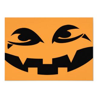 Halloween Party Invitation - Vampire Pumpkin