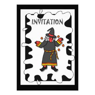 Halloween party Invitation wizard