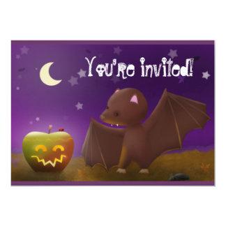 Halloween - party invites 13 cm x 18 cm invitation card