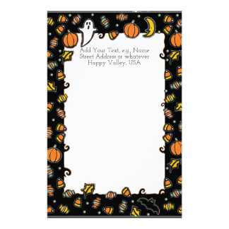 Halloween Party Invites Stationery