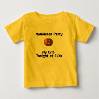 Halloween Party My Crib Tonight At 7:00 Baby T-Shirt
