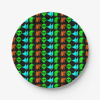 Halloween Party Paper Plates 7 Inch Paper Plate