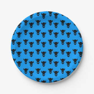 Halloween Party Paper Plates Pattern 7 Inch Paper Plate