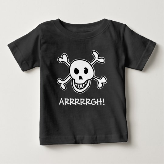 Halloween party pirate skull costume for kids baby