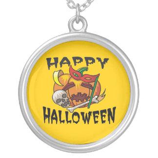 Halloween Party Pumpkin Necklace