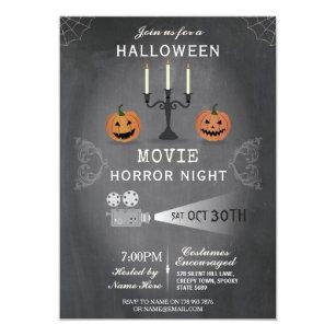 movie party seasonal invitations zazzle co uk