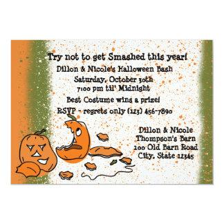 Halloween Party Pumpkins 13 Cm X 18 Cm Invitation Card