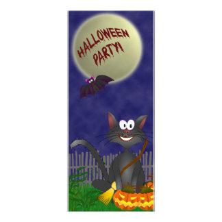 Halloween Party Spooky Cat Invitation