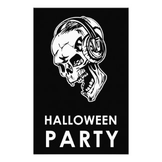 Halloween Party Stationery