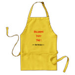 Halloween Party Time...Apron...